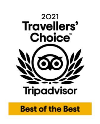 TripAdvisor Travelers' Choice Best of the best